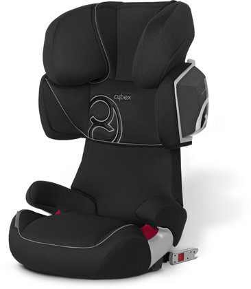 Cybex Kindersitz Solution X2-Fix - Komfortoptik 2012 Pure Black-black - Großbild