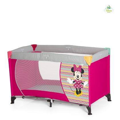 Disney Reisebett Dream and Play, Mickey & Minnie -  * Das Dream'n Play von Disney baby ist perfekt für die Reise oder den Besuch bei Oma und Opa. Exklusives Reisebett Disney Mickey & Minnie.