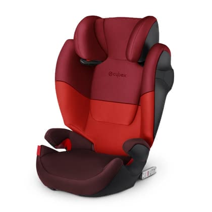 Cybex Kindersitz Solution M-Fix Rumba Red - dark red 2019 - Großbild