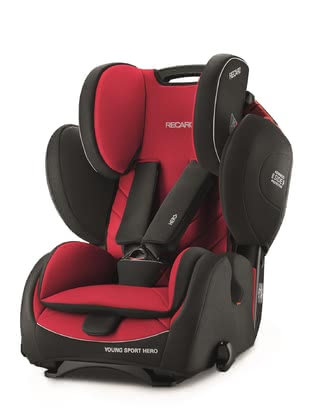 RECARO Kindersitz Young Sport HERO Racing Red 2019 - Großbild
