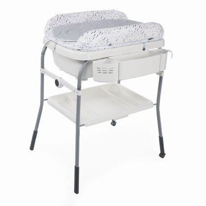 Chicco Bade-und Wickelkombination Cuddle & Bubble Comfort COOL GREY 2020 - Großbild