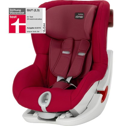 Britax Römer Kindersitz King II Flame Red 2019 - Großbild