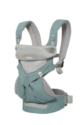 Ergobaby Babytrage 360° Cool Air Mesh Icy Mint - Großbild