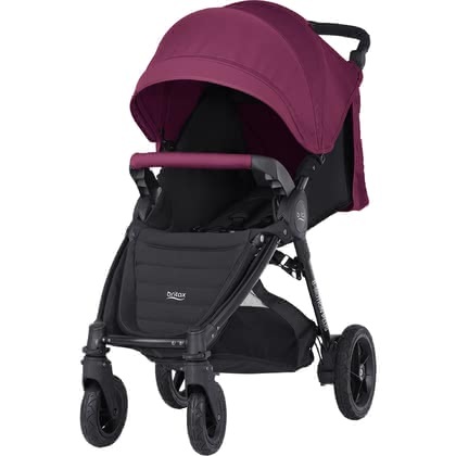 Britax B-MOTION 4 Plus inkl. Canopy Pack Wine Red 2019 - Großbild