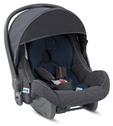 Inglesina Babyschale Huggy Multifix Village Denim 2019 - Großbild