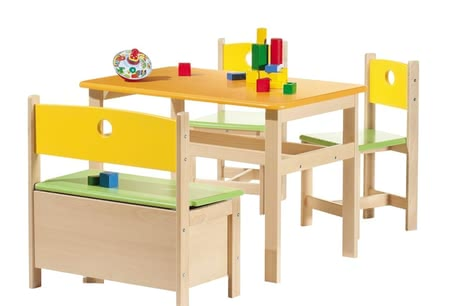 Geuther Kindermöbel-Set Pepino -  * Mit dem Kindermöbel-Set Pepino von Geuther schaffen Sie für Ihr Kind eine optimalen Spielwelt!