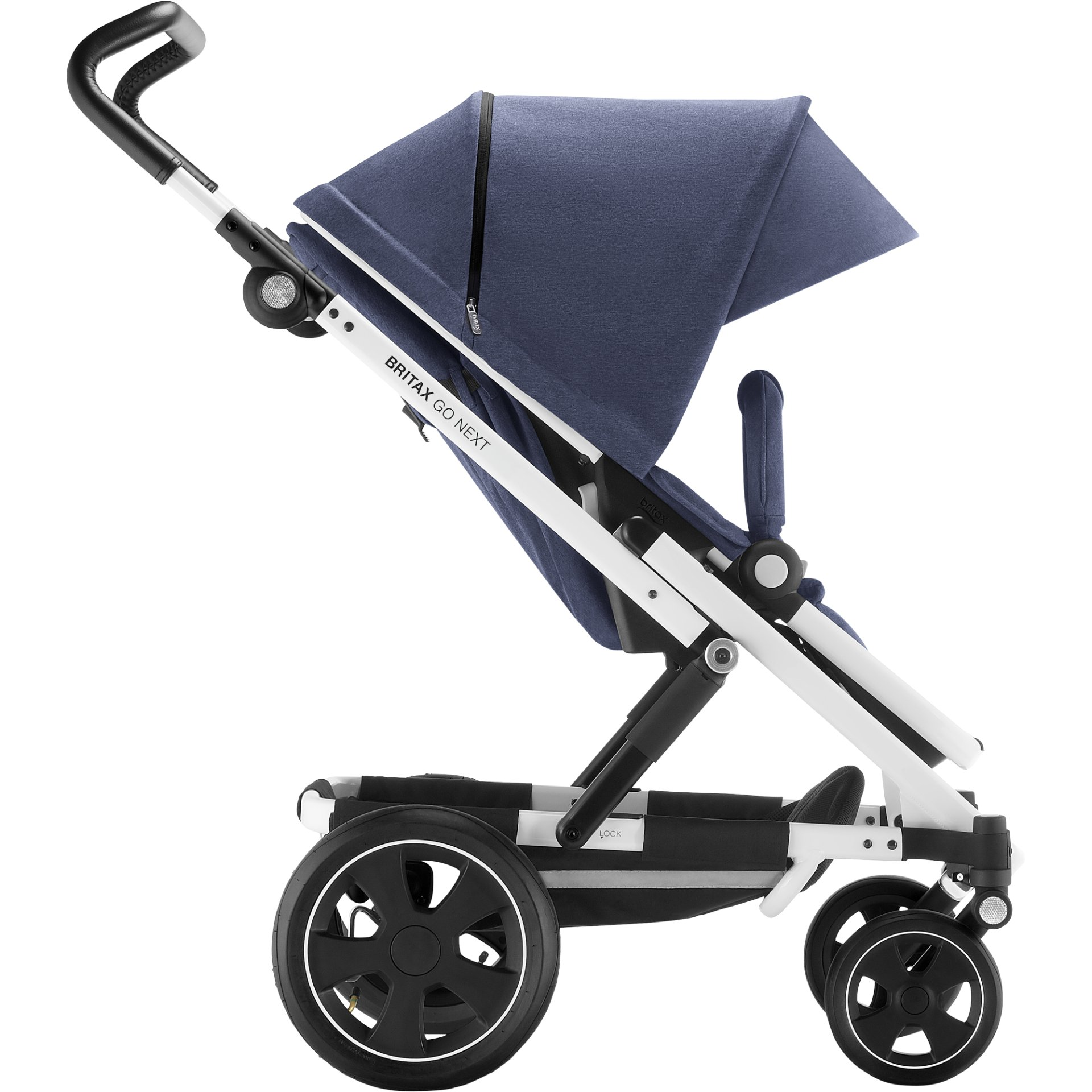 britax r mer kinderwagen go next 2 2019 navy melange online kaufen bei kidsroom kinderwagen. Black Bedroom Furniture Sets. Home Design Ideas