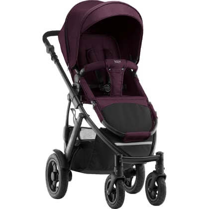 Britax Römer Kinderwagen SMILE 2 Wine Red Denim 2019 - Großbild