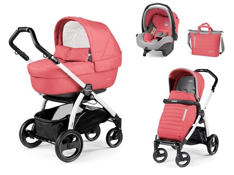 Peg-Perego Kinderwagenset Book S Modular Set Elite - * Mit dem Peg-Perego Kinderwagenset Book S Modular Set Elite ziehen Sie alle Blicke auf sich und bieten Ihrem Kind den besten Komfort und Sicherheit.