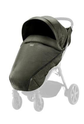 Britax B-AGILE Plus und B-MOTION Plus Canopy Pack Denim-Kollektion Olive Denim 2020 - Großbild