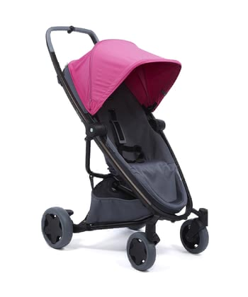 Quinny Buggy Zapp Flex Plus Pink on Graphite 2019 - Großbild