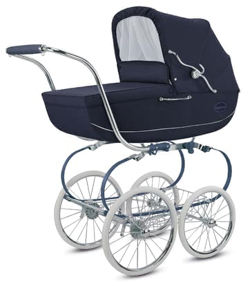 Inglesina Kinderwagen Classica - Kollektion Blue Label Blue 2020 - Großbild