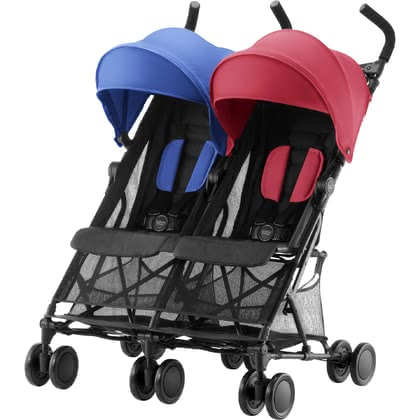 Britax Römer Buggy Holiday Double Red_Blue 2019 - Großbild