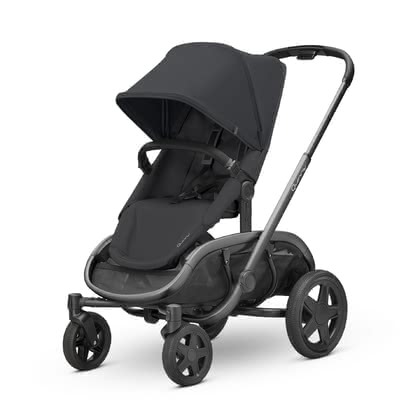 Quinny Kinderwagen Hubb Black on Black 2021 - Großbild