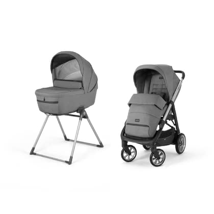 Inglesina Kinderwagen Aptica – Kit System Duo Kensington Grey 2021 - Großbild