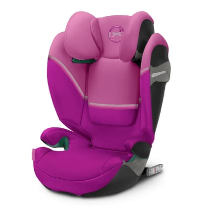 Cybex Gold Kindersitz Solution S i-Fix Magnolia Pink - purple 2020 - Großbild