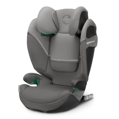 Cybex Gold Kindersitz Solution S i-Fix Soho Grey - mid grey 2021 - Großbild