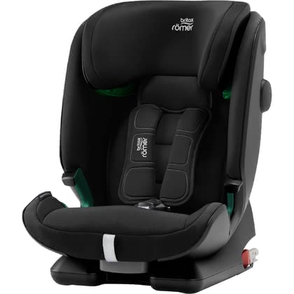 Britax Römer Kindersitz Advansafix i-Size - ✓ FLIP & GROW-Funktion ✓ EasyRecline ✓ SecureGuard ✓ XP-PAD ✓ geeignet von 76-150cm Körpergröße ✓ V-förmige Kopfstütze ✓ Made in Germany